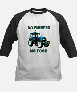 NO FARMERS FOOD Baseball Jersey