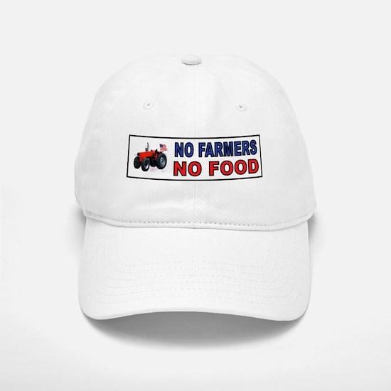 NO FARMERS FOOD Baseball Baseball Baseball Cap