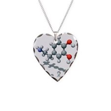Dopamine neurotransmitter mol Necklace
