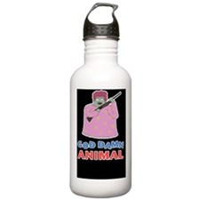 animal-d5-Journal Water Bottle