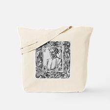 Dante Alighieri, Italian poet Tote Bag