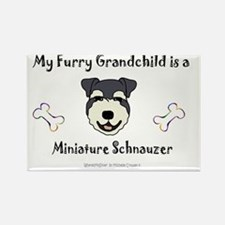 miniature schnauzer Rectangle Magnet