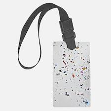 Confetti Luggage Tag