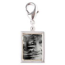 Dementia, conceptual image Silver Portrait Charm