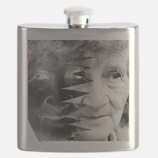 Dementia, conceptual image Flask