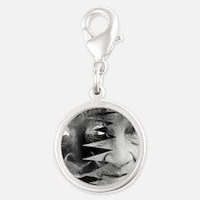 Dementia, conceptual image Silver Round Charm