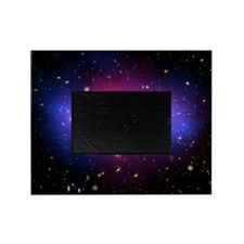 Galaxy cluster collision, X-ray imag Picture Frame