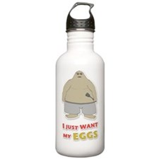 animal-d4-WhiteApparel Water Bottle