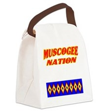 MUSCOGEE NATION Canvas Lunch Bag
