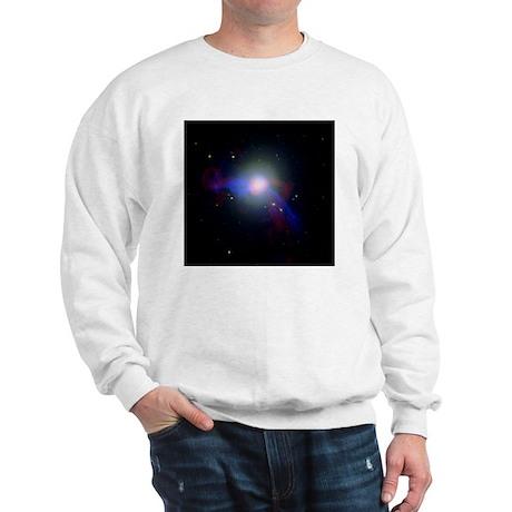 Giant elliptical galaxy M87 Sweatshirt