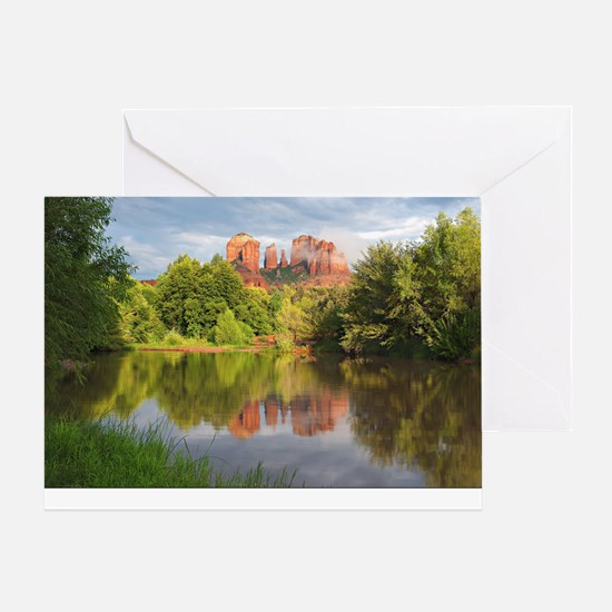 Red Rock Crossing, Sedona, Arizona Greeting Card