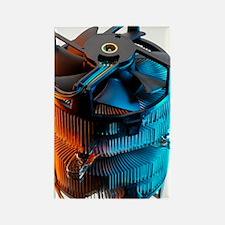 Computer fan Rectangle Magnet