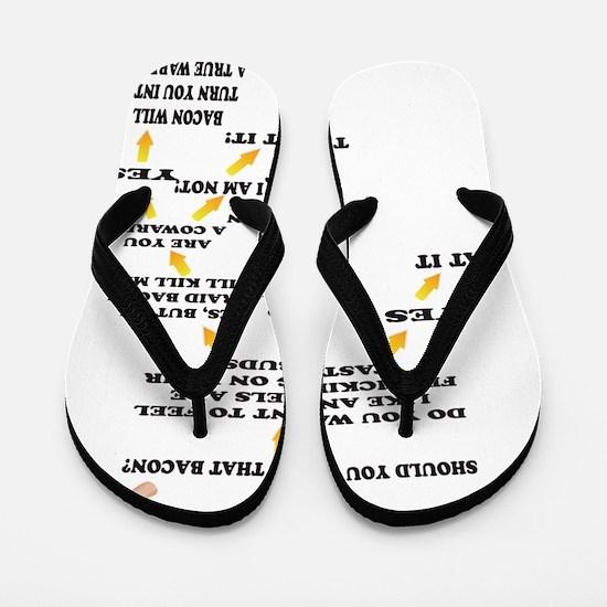 Should you eat that Bacon Flip Flops
