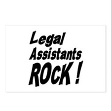 Legal Assistants Rock ! Postcards (Package of 8)