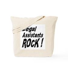 Legal Assistants Rock ! Tote Bag