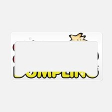 The Chirba Chirba Official Lo License Plate Holder