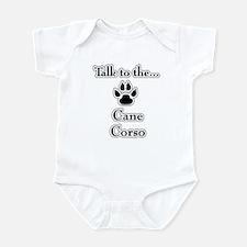 Cane Corso Talk Infant Bodysuit