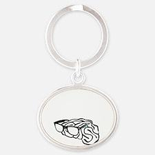 sapiosexual Oval Keychain