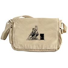 Barrel Racing Messenger Bag
