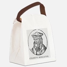Gerardus Mercator, Flemish cartog Canvas Lunch Bag