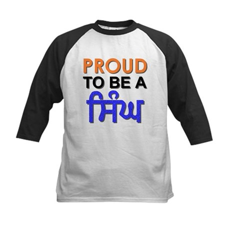 Proud to be a Singh Kids Baseball Jersey