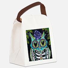 La Lechuza Canvas Lunch Bag