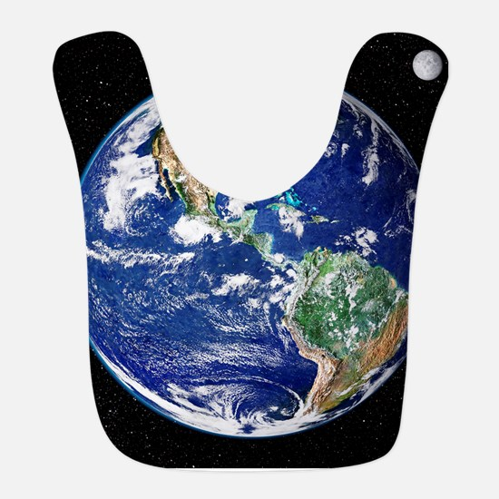 Earth from space, satellite image Bib
