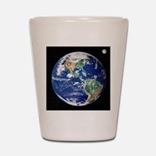 Earth from space, satellite image Shot Glass