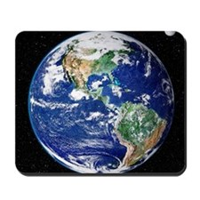 Earth from space, satellite image Mousepad