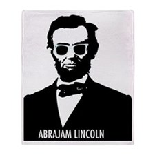 AbraJAM Lincoln Throw Blanket