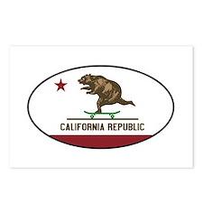 California Skateboarding  Postcards (Package of 8)