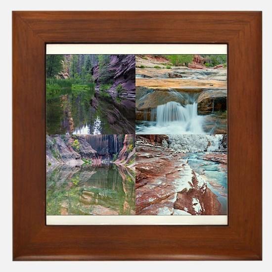 Sedona in Four Seasons Framed Tile