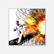 """Explosion Square Sticker 3"""" x 3"""""""