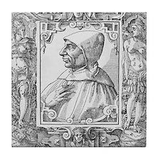 Girolamo Savonarola, Italian priest Tile Coaster