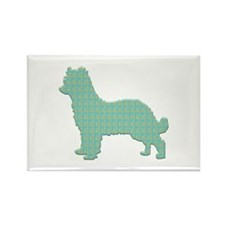 Paisley Pyrenean Rectangle Magnet