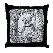 Girolamo Savonarola, Italian priest Throw Pillow