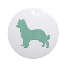 Paisley Pyrenean Ornament (Round)