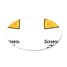 Scratch-n-Sniff Oval Car Magnet