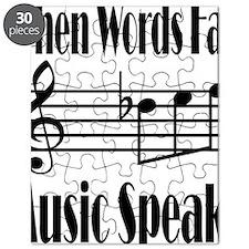 Music Speaks Puzzle