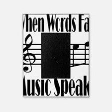 Music Speaks Picture Frame
