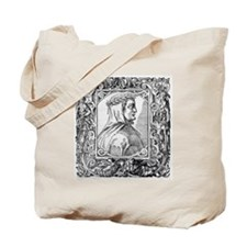 Francesco Petrarch, Italian poet Tote Bag