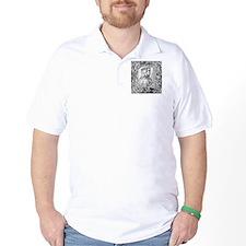 Francesco Petrarch, Italian poet T-Shirt