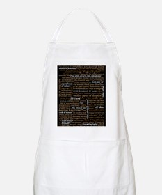 Shakespeare Quotes Apron