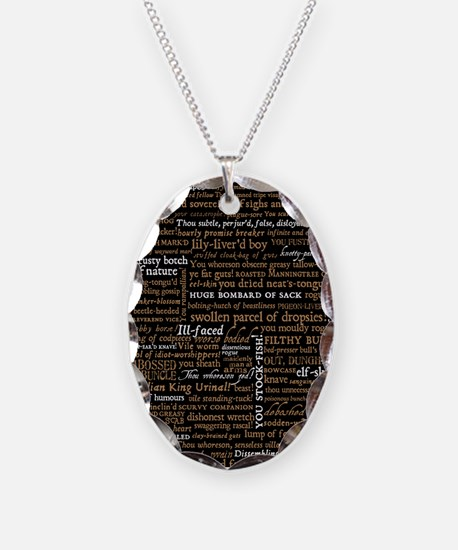 Shakespeare Quotes Necklace