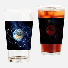 Galileo navigation satellite, artwo Drinking Glass