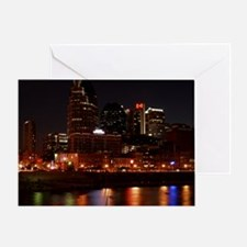 Nashville and the Cumberland River Greeting Card