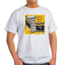 Drum Dance Live Yellow T-Shirt