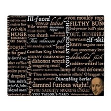 ShakespeareQuotes Throw Blanket