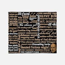 ShakespeareQuotes Throw Blanket