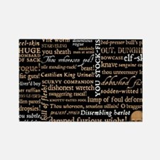 ShakespeareQuotes Rectangle Magnet